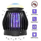 VITCOCO Lampe Anti Moustique, Moustique Tueur Lampe Exterieur Portable USB Rechargeable Hangable...