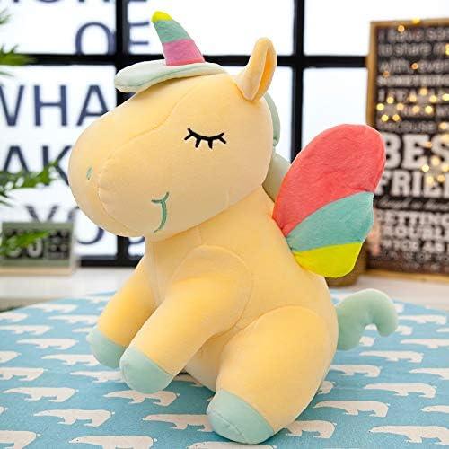 elige tu favorito GLEYDY Peluche de Juguete Rainbow Angel Unicornio Unicornio Unicornio de Peluche Suave Felpa muñeca Animales Niño,D,04  ahorra hasta un 80%