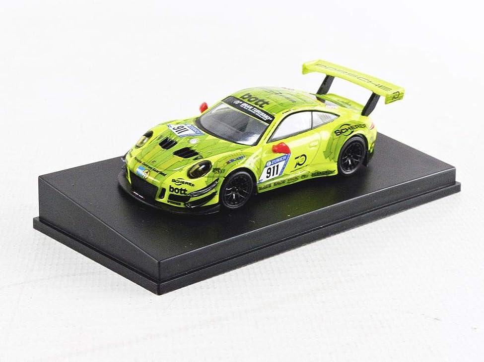 リンス腐敗したライトニング1/64 Porsche 911 GT3 R No.911 Manthey Racing - Pole Position 24H Nurburgring 2018