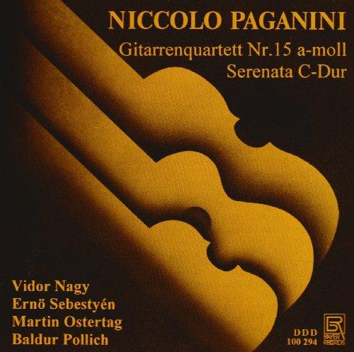 Paganini: Gitarrenquartett 15 / Serenata