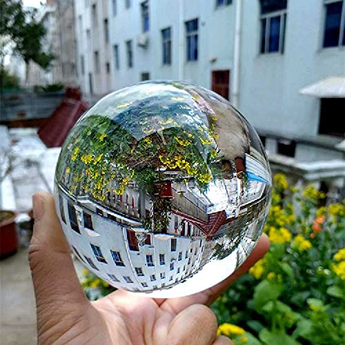 MEIXIANG Transparent Crystal Ball Photography Prop Magic Acrobatics Show Creative Home Swing Gifts 70mm