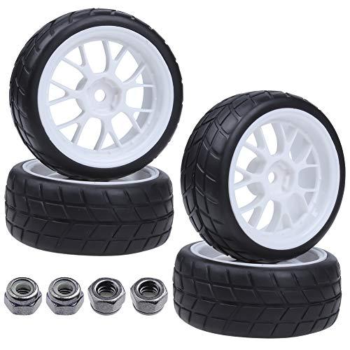 4X RC Tires & Wheels Rims Sets Y Shaped Width:26mm
