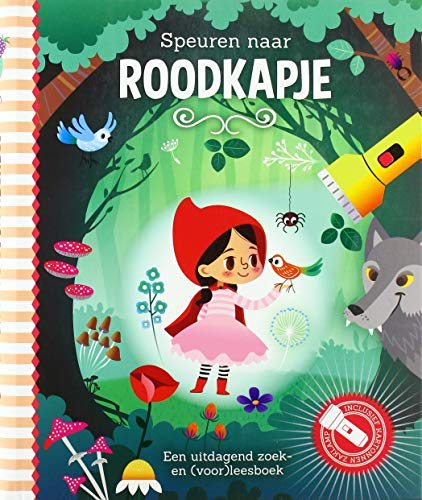 Speuren naar Roodkapje: Een uitdagend zoek- en (voor)leesboek
