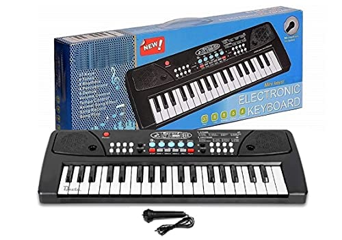 DEVTA Kids Piano Keyboard, Piano for Kids with Microphone Portable Electronic Keyboards for Beginners 37 Keys Musical Toys Pianos for Girls Boys Ages 3-13