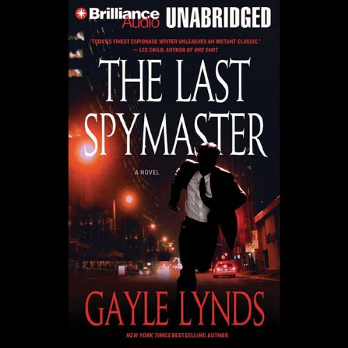 The Last Spymaster audiobook cover art