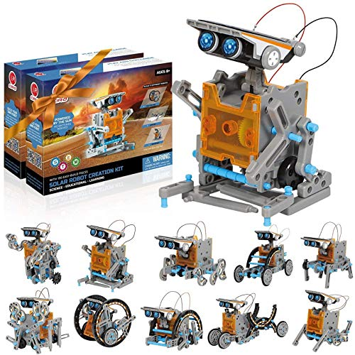 CIRO STEM Solar Robot Kit 2 Pack,STEM Toys Projects for Kids Ages 8-12...