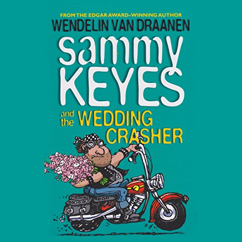 Sammy Keyes and the Wedding Crasher audiobook cover art