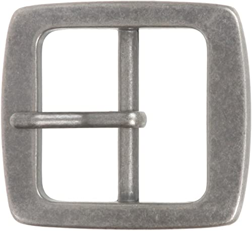 """1/"""" Steel Oval Blank Buckle 1 11 2 13 4 Belt Decorative Accent Tandy"""