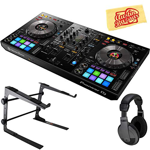Fantastic Deal! Pioneer DDJ-800 2-Channel Portable DJ Controller for Rekordbox DJ Bundle with Stand,...