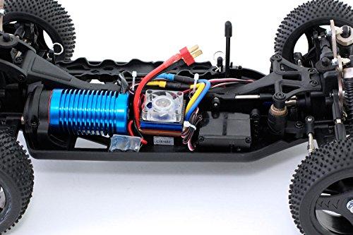 RC Auto kaufen Buggy Bild 3: XciteRC 30321000 - ferngesteuertes RC Auto One10 Buggy 4WD Brushless, blau*