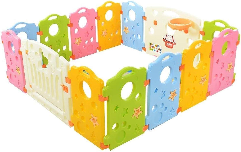QNJM Baby-Sicherheitszaun, Raumteiler-Aktivittszentrum Für Kinderspiele, Starkes Und Langlebiges Aktivittspanel, 156 × 156 × 60 cm