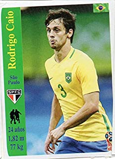 World Cup Russia 2018 Sticker Peru Rodrigo Caio Sao Paulo Football Club
