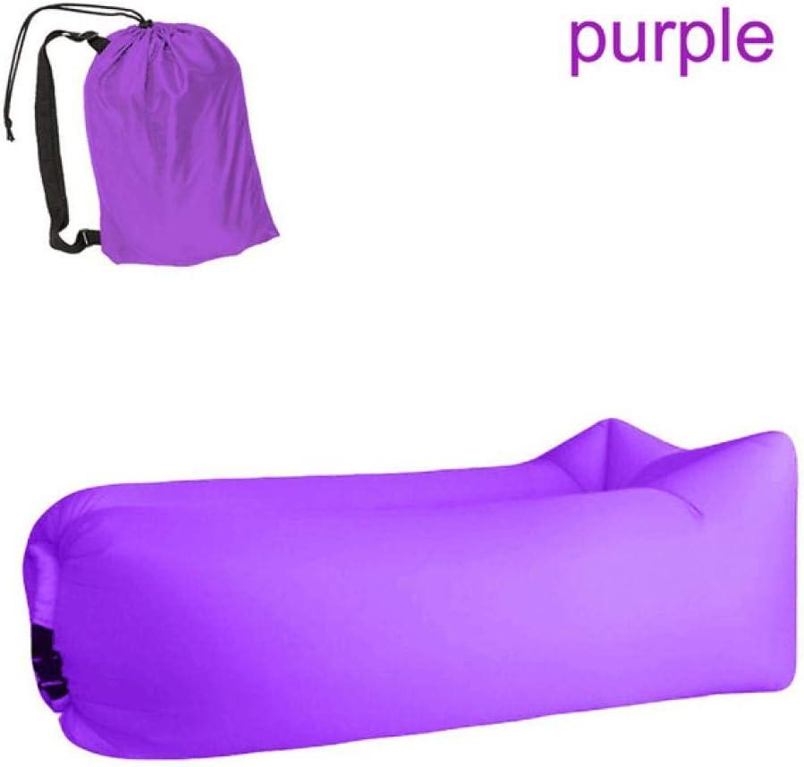 Lounge Chair Fast Folding shipfree Camping Sleeping Direct stock discount Waterproof Inflat Bag