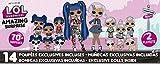 L.O.L. Surprise! 559764E7C Amazing Surprise Spielset mit zwei O.M.G. Puppen und vielen kleinen Figuren, mehr als 70 Überraschungen