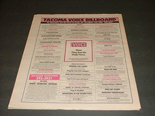 Tacoma (WA) Voice Vol 1 #5 Jul 4 - 25 1996 World of Proctor, Broadway Ctr