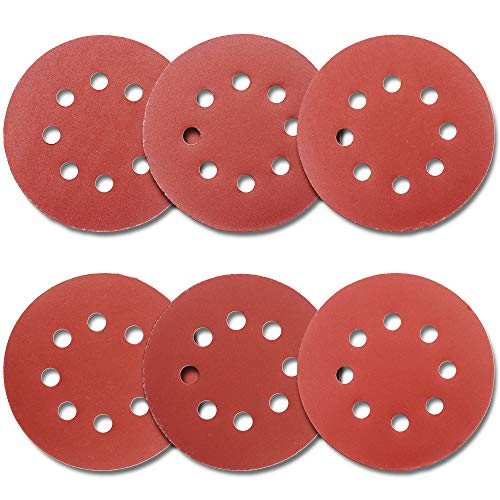 30 Pieces 9 Inch Sandpaper Metal Sanding and Mirror Jewelry Car Polishing GOH DODD Hook /& Loop 8-Hole Sander Sheets 120 Grits Grinding Abrasive Sanding Disc for Wood Furniture Drywall Finishing