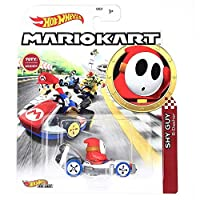 Hot Wheels Mario Kart Shy Guy B Dasher