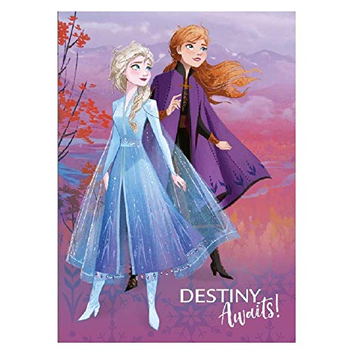 Manta de Frozen II Disney Elsa Anna 100 x 150 cm - B001FRO