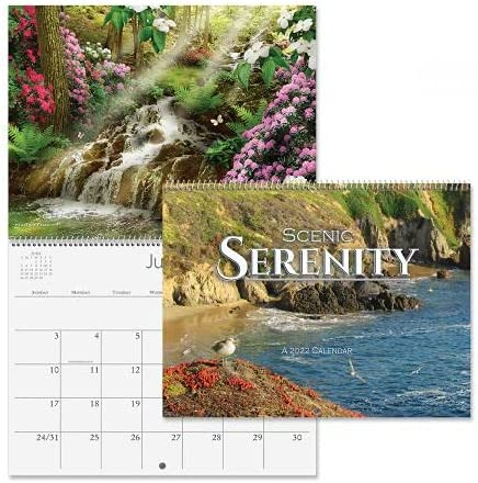 2022 Ranking TOP4 Serenity Wall Calendar - 12