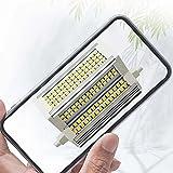 Bombilla LED R7S de 118 mm Regulable, Reflector de Doble Extremo...