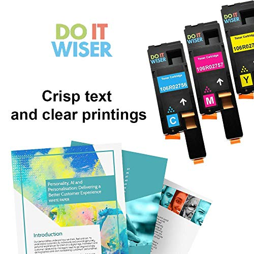 Do it Wiser Compatible Toner Cartridge Replacement for Xerox Phaser 6022 6020 WorkCentre 6027 6025 (106R02756) - Cyan 1,000 Pages Photo #4
