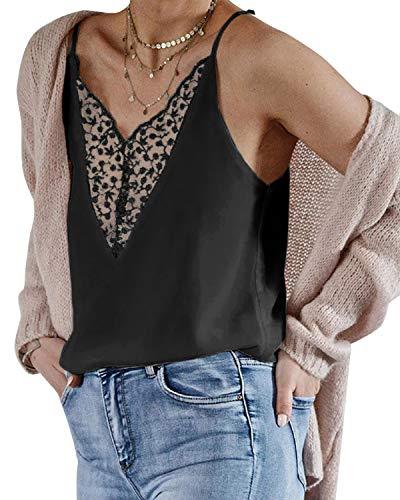 YOINS Crop Top, seksowna bluzka bez rękawów, jednokolorowa, modna bluzka z okrągłym dekoltem, modna