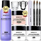 Morovan Acrylic Nail Kit - Acrylic Powder and...