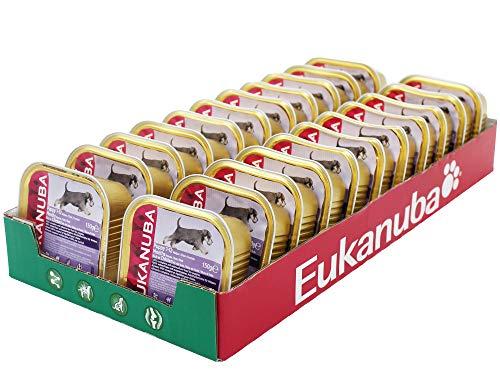 Eukanuba Welpenfutter Nass Junior Huhn, Nassfutter in Sauce (22 x 150g)