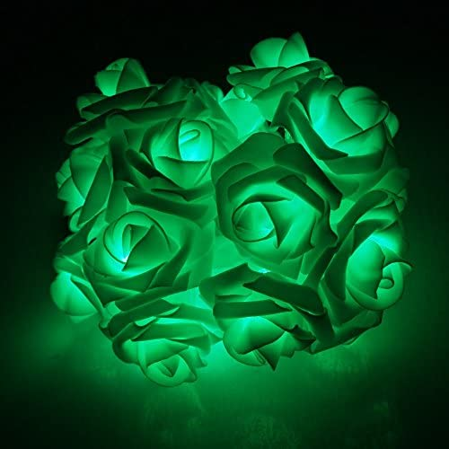 Avanti 20 Led Battery Operated String Romantic Flower Rose Premium Fairy Light Lamp Outdoor product image