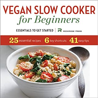 Vegan Slow Cooker for Beginners audiobook cover art