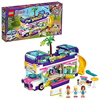 LEGO Friends Friendship Bus 41395 Heartlake City Toy Playset Building Kit Promotes Hours of Creative Play New 2020  778 Pieces