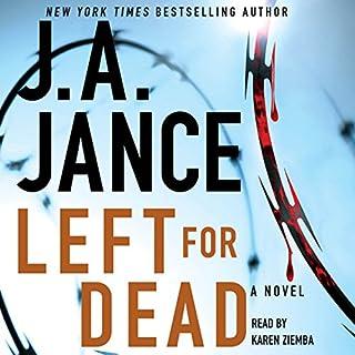 Left for Dead audiobook cover art