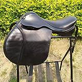BLCC silla de montar de caballo sintético de gel silla de montar...