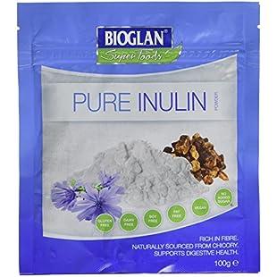Bioglan Superfoods Pure Inulin Powder   Pure Chicory Root   Prebiotic   Fibre   Digestive aid - 100g