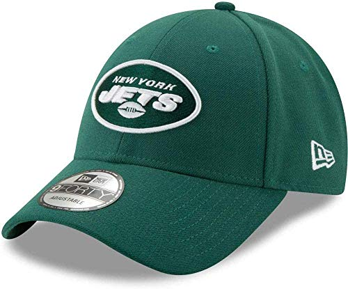 New Era New York Jets Adjustbale Cap The League Green - One-Size