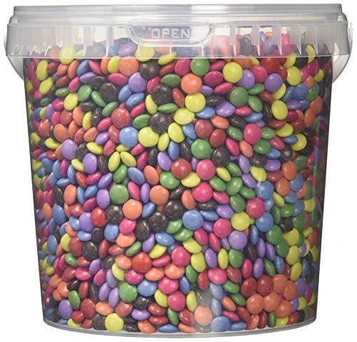 DECORESSA Schokolinsen mit natürl. Farben (1 x 2 kg)