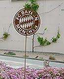 Garten Himmel Kompatibel mit FC Bayern München Gartenstab