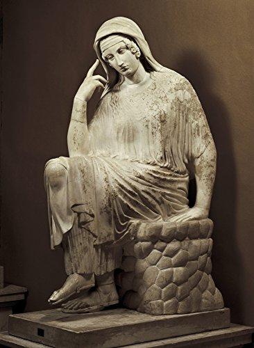 Vatican Penelope 6Th C Bc Roman Copy After A Greek Original Classical Greek Art Sculpture On Marble Vatican City Vatican Museums ? AisaEverett Collection Poster Print (18 x 24)