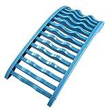 ABOOFAN 1 x Appareil de massage du dos pour soulager la douleur de la colonne vertébrale (bleu ciel)