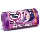 Handy Bag Bolsas de Basura 30L, Extra Resistentes, Perfumadas, 25...