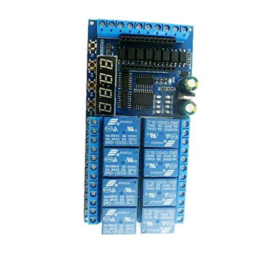 Pantalla artificial Automatización Digital Delay Timer Control Interruptor Mini Pro Plc tablero...