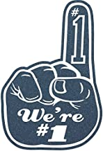 Shindigz Navy We're Number One Foam Finger