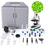 Best Microscopes - TELMU Microscope for Students, Compound Binocular Microscope Review