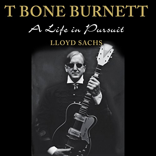 T Bone Burnett audiobook cover art