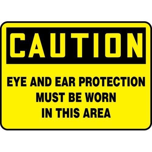 Accuform MPPE797VA Aluminum Sign: