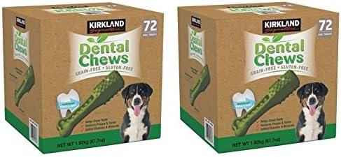 Kirkland Excellent Signature Dental Chews Dog Count 144 Treats 40% OFF Cheap Sale