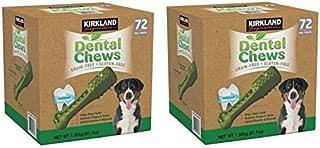Kirkland Signature Dental Chews Dog Treats, 144 Count