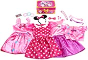 Disney Minnie Mouse Bowdazzling Dress Up Trunk Set, 21 Fashion Accessories Included, Size 4-6x, Amazon Exclusive