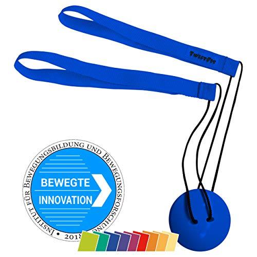 TwistFit® original u. patentiert - Fitness-Studio im Taschenformat, blau