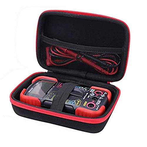 Aenllosi Hard Case for Fits INNOVA 3320/3340 Auto-Ranging Digital Multimeter (red)